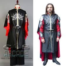 Lord Rings Halloween Costume Lord Rings Hobbit Dwarf King Aragorn Elessar Cosplay