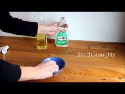 Cleaning A Wooden Dining Table by How To Make Natural Wood Furniture Polish Youtube