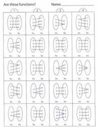 math function worksheets relations and functions 1 pencil test worksheets students and