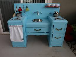 Play Kitchen From Old Furniture by We Love Being Moms Homemade Kids Play Kitchen