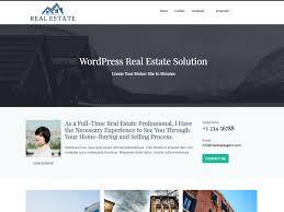 Free Real Estate Website Templates Wordpress by Real Estate Agent U2014 Free Wordpress Themes