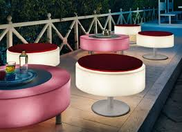 Patio Furniture Lighting Illuminated Furniture Light Up Patio Furniture By Modoluce