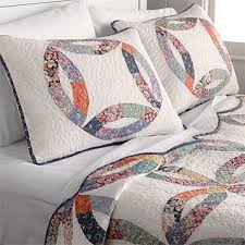 Wedding Ring Quilt by Country Wedding Ring Quilt Country Wedding Ring Quilt U0026 Sham Set