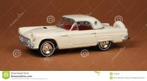 ford thunderbird 1955 stock photography image 7350362