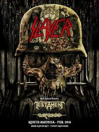 slayer testament carcass winter 2016 american tour dates