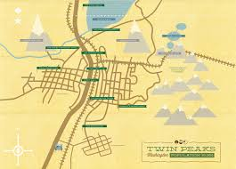 Bothell Washington Map by Twin Peaks Filming Locations