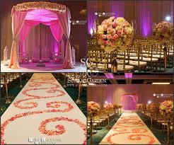 wedding decorators blush pink gold suhaag garden florida indian wedding