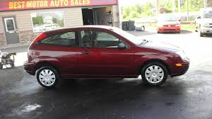ford focus 2006 zx3 2006 ford focus zx3 for sale at best motor auto sales geneva ohio