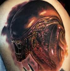 3d alien tattoo ideas tattoo designs