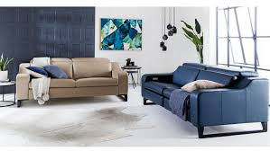 indigo leather sofa lounges u2013 sofa bed sofa futon leather lounge u0026 more domayne