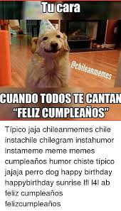 Birthday Dog Meme - 25 best memes about chilean chile happy birthday birthday