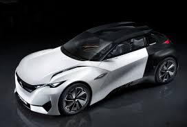 peugeot sports car 2017 official peugeot fractal concept gtspirit