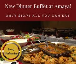 Eat All You Can Buffet by Enjoy Amaya U0027s All You Can Eat Dinner Buffet