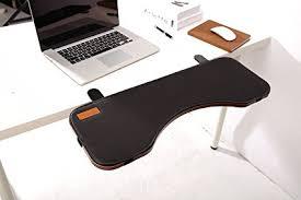 keyboard mount for desk amazon com fuzadel desk extender ergonomic keyboard shelf elbow