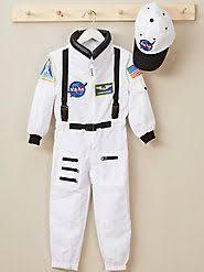 white nasa astronaut dress up set toddler u0026 kids dress up box