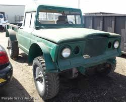 jeep truck 1968 kaiser jeep pickup truck item l7343 sold december