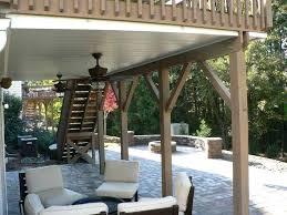 under pool deck storage ideas walk out basement under deck designs