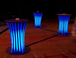Check This Undertable Led Setup For Highlighting Table In Events