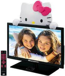 kitty led tv peekaboo doubles monitor