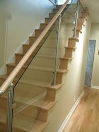 Wooden Stair Banisters And Railings Boxed Cantilevered Stair Staircase Timber Spotted Gum