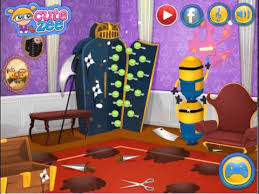 Room Makeover Game Minions Video Game Minions House Makeover Enjoydressup Com