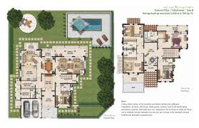 floor plans mudon villa