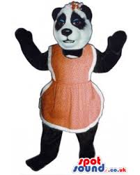 buy mascots costumes in uk panda bear animal mascot wearing