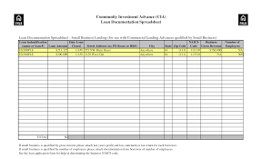 excel templates for small business