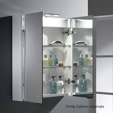 Bathroom Mirror Cabinet Roper Rhodes Entity Led Double Glass Door Bathroom Mirror Cabinet