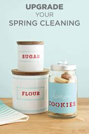 Cupcake Canisters For Kitchen Kitchen Storage Containers Pantry Labels Martha Stewart Crafts
