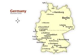 map of germny map of germany with major cities major tourist