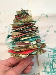 homemade christmas music tree ornament teach beside me
