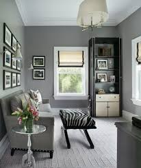 Grey Sofa What Colour Walls by Grey Carpet Lounge Home Office Transitional With Zebra Stool
