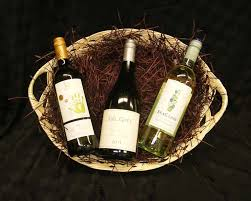 wine basket in the beanstalk fruit gourmet food and wine baskets