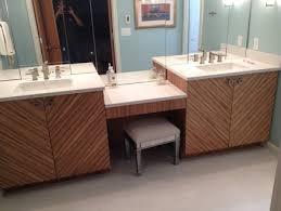 zebra wood bathroom cabinets new bath vanities wrapped with zebra wood veneer by jim sellers