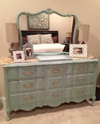 Bedroom Furniture Painted With Chalk Paint French Provincial Dresser Hand Painted And Distressed In Annie