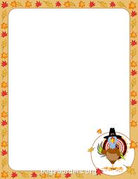 printable turkey border free gif jpg pdf and png downloads at