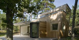 Modern Cabin by Gallery A Low Impact Modern Cabin In Sweden Schlyter Gezelius