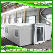 economical prefabricated resort in folding container homes labour