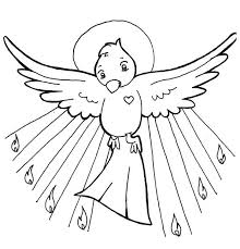 inspirational holy spirit coloring page 25 for coloring pages for