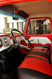 Ford Truck Interior Restored Interior Of A 1964 Ford Step Side F 100 Pickups