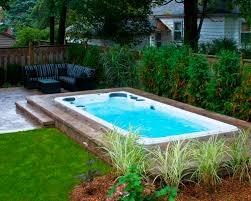 backyard pool and spa integrity builders image on fabulous