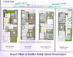 royal villas ajmer road jaipur 3 bhk luxury villa for sale at