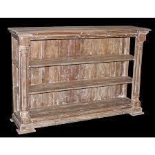 open column bookcase natural