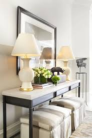 Yellow Console Table 34 Stylish Console Tables For Your Entryway Digsdigs