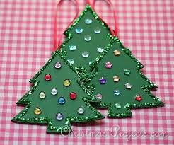 ornament craft foam tree