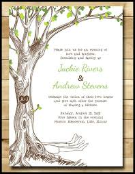 tree wedding invitations bookish wedding invitations for your literary lovefest