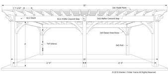 12 X 16 Pergola by Plan For A Carefree U0026 Easy Diy Project 16 U0027 X 28 U0027 Timber Frame