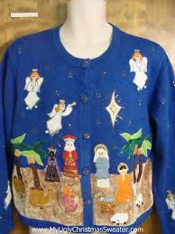 nativity bad sweater
