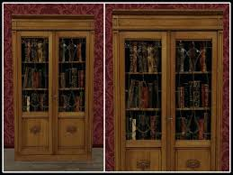 Cherry Wood Bookcase With Doors Wood Bookcases With Doors Bookcase Makeover Traditional Cherry To